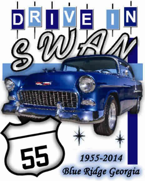 Welcome to the Historic Swan Drive-In - Blue Ridge, GA. - If your in the area, be sure to visit this classic. Get there early, especially if you want to sit on the grass, a family favorite. Before the show kids, teens and even adults throw Frisbees, footballs or just get out and run around. Open year round