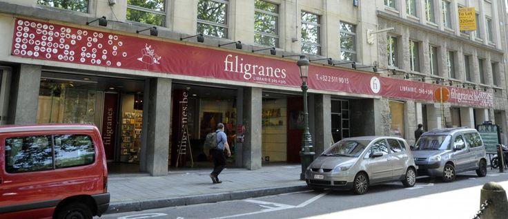 Filigranes Avenue des Arts 39, 1040 Etterbeek Ouvert en semaine de 9h à 20h, le samedi de 10h à 19h30 et le dimanche de 10h à 19h Tel : 02 511 90 15 http://www.filigranes.be