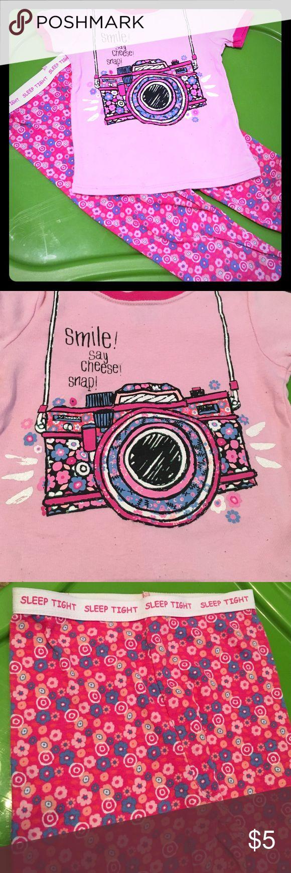 Pink pajama set Pink pajama camera top and matching pajama bottoms. Faded Glory Pajamas Pajama Sets