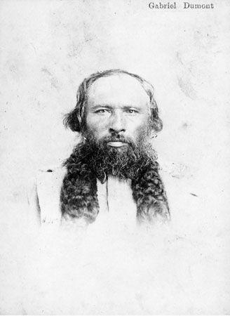 Métis Resistance: Gabriel Dumont was the Métis' greatest military leader.