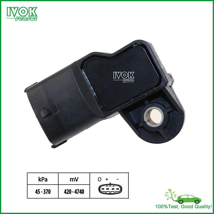 Newest Type! For Renault Megane II Scenic II Laguna II 1.9 dCi MAP Sensor 0281002709 8200375080 0 281 002 709 82 00 375 080