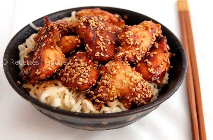 Une petite recette simple et facile pour les amoureux des repas asiatiques…