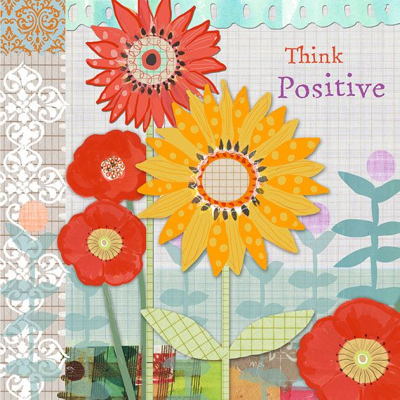 Motivational Wall Art Flower Wall Décor by Farida by Faridazaman, $35.00