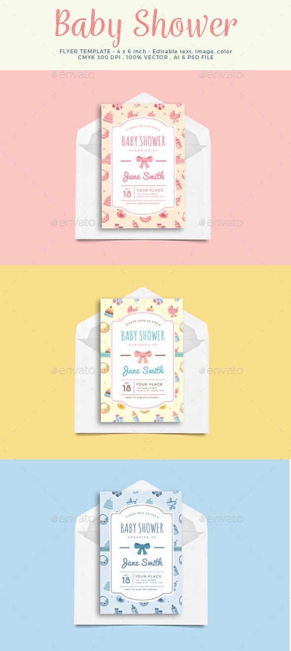 1214 best Card \ Invite Design Templates images on Pinterest - baby shower invitations for word templates