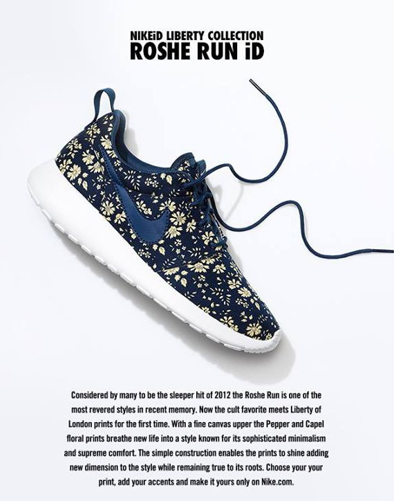 nike roshe run id liberty 2 Liberty x Nike Roshe Run iD   Available