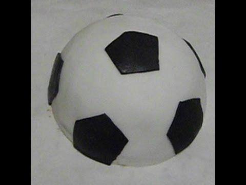 Dolcilandia e non solo...: Video tutorial : Torta Pallone da calcio in Pdz
