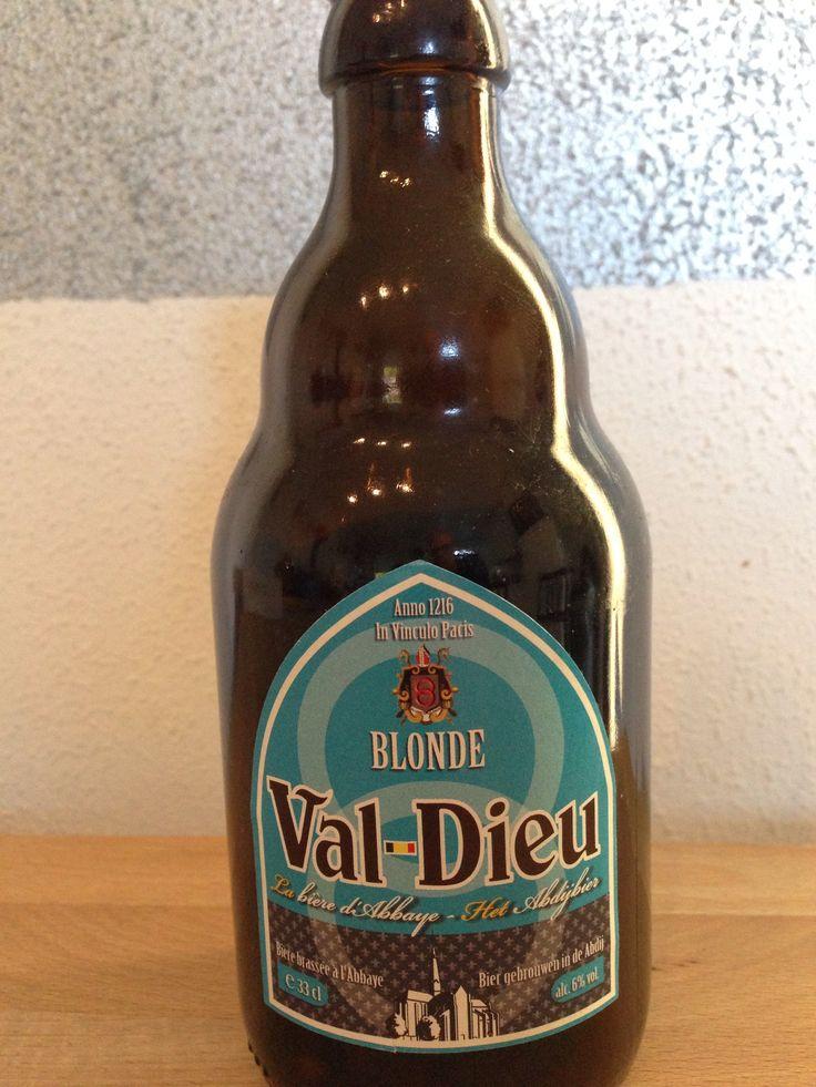 Val-Dieu - Blonde - abdijbier 33cl, 6%. Brasserie de l'abbaye du Val-Dieu www.val-dieu.com