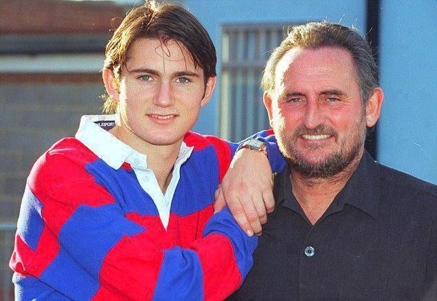 Super Frank Lampard and Frank Lampard Sr. #chelsea football club #ktbffh #legend #all time leading goalscorer for chelseafc