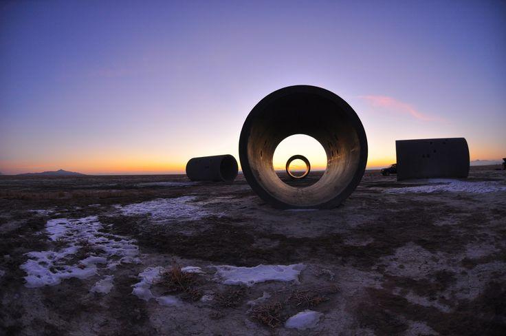 Sun Tunnels Nancy Holt
