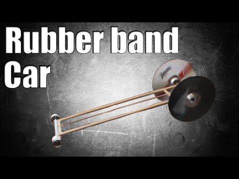 elastic band car instructions