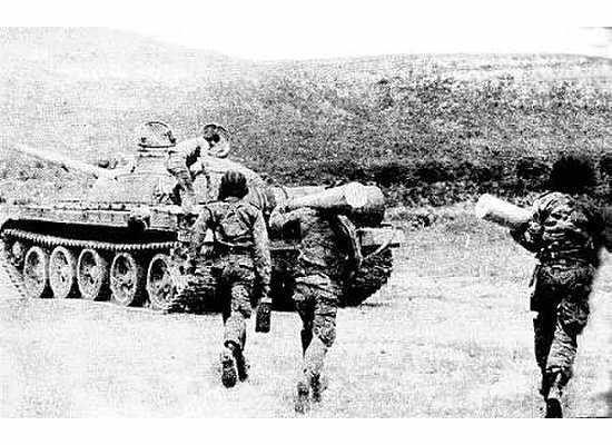Cuban T-62, Battle of Cuito Cuanavale.