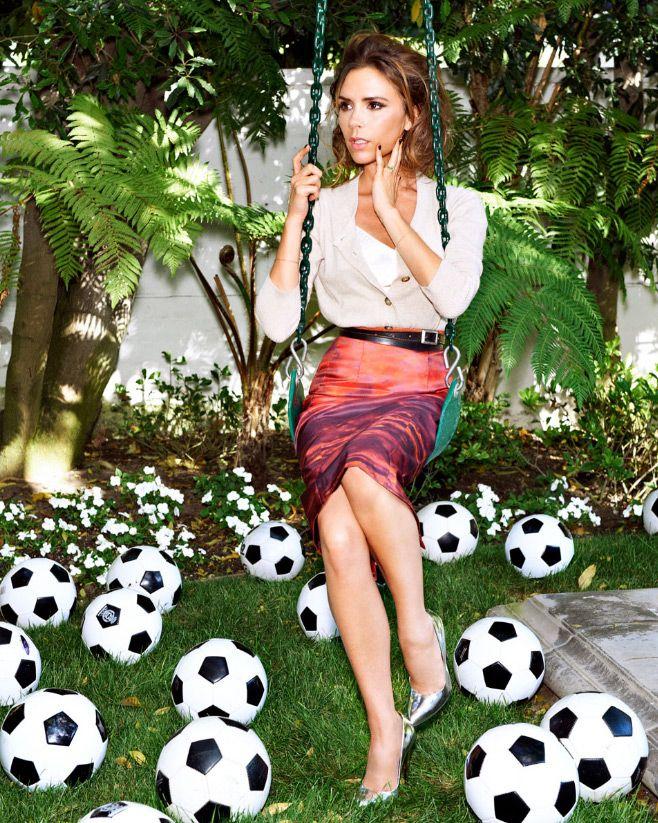 victoria beckham - ultimate soccer mom