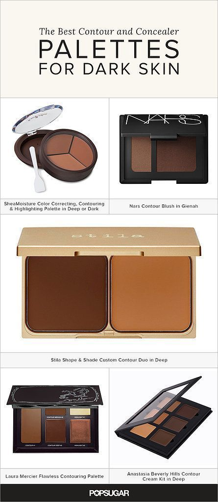 Getting chiseled cheekbones is one of the hottest trends in makeup right now (right after strobing). I tested out the most popular palettes on the market right now to see which ones work for brown girls. Each compact is a blend of highlighting, concealing, contouring, and correcting colors: