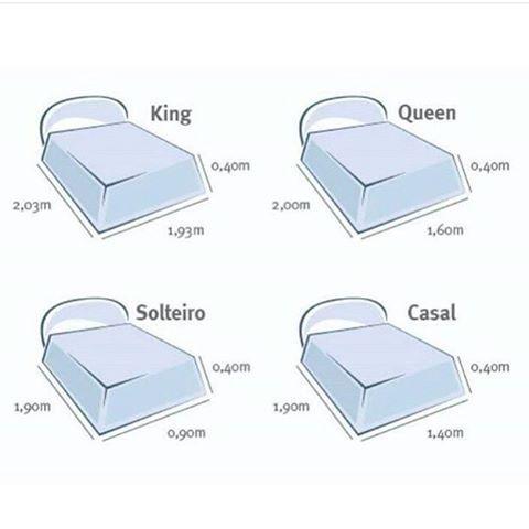 Las 25 mejores ideas sobre medidas de cama queen en for Ancho cama king size