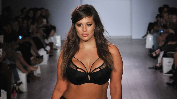 Ashley Graham Talks Curvy Role Models Backstage at Her NYFW Debut: Moments after Ashley Graham debuted her lingerie line with Addition Elle at KIA STYLE360 at NYFW, we caught up with the game-changing model backstage.
