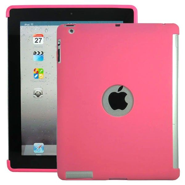 Soft Shell - Smart Cut (Rosa) iPad 3 Deksel