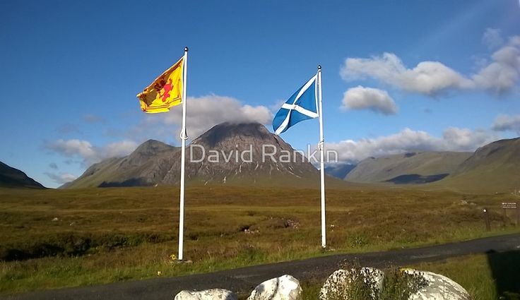 Scottish flags - Saltire and St Andrews cross