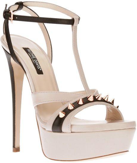 Ruthie Davis Black Naples Spiked Sandal €779 #Shoes #Heels