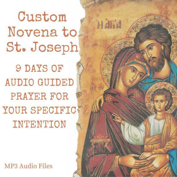 Custom Novena Guided Prayers to St. Joseph