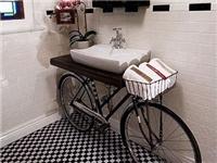 Bisiklet Lavabo Dekoru