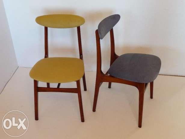 Krzeslo vintage czasy PRL krzesła Łódź - image 1