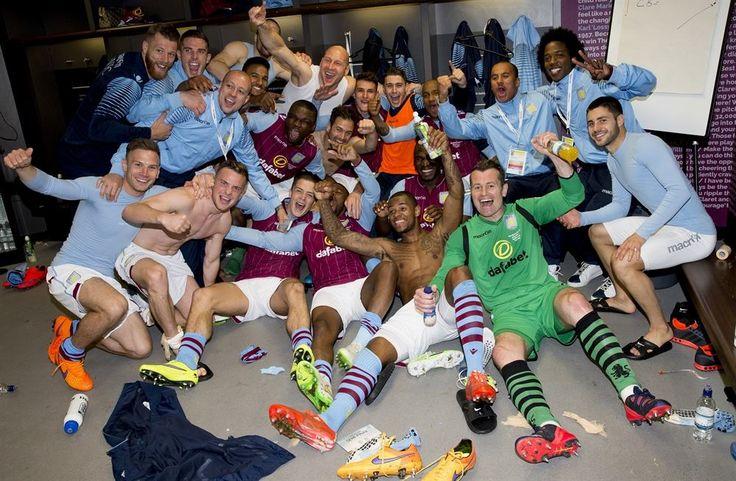 Villa 2 Liverpool 1 semi-final 2015
