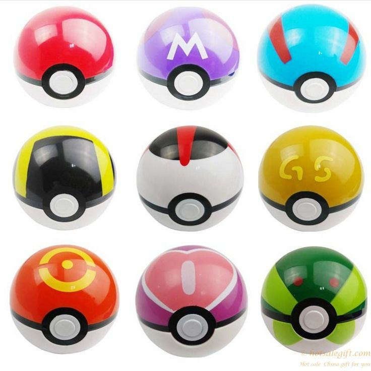 Promotional Plastic Pokemon PokeBall Toys OEM Production gift