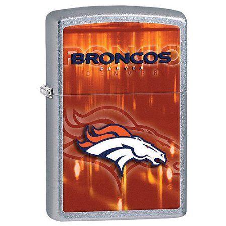 Zippo NFL Broncos Lighter, Blue