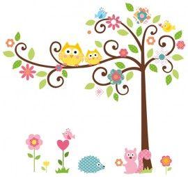 Eijffinger Hits for Kids 808105 Backyard Friends stickers. Maten  b1.63/h1.47  Kamerbreedte 3.40?