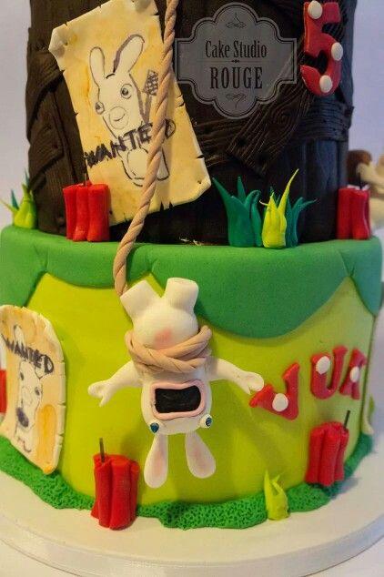 RABBIDS Cake