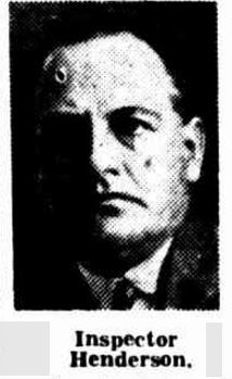 1937 SUB-INSPECTOR J. Henderson, of the Criminal investigation Branch, has been promoted to the rank of Inspector, and will take charge of the Maryborough police district.