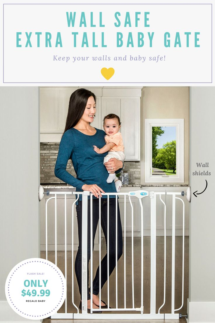 Wall Safe Extra Tall Baby Gate Our Products Pinterest Baby