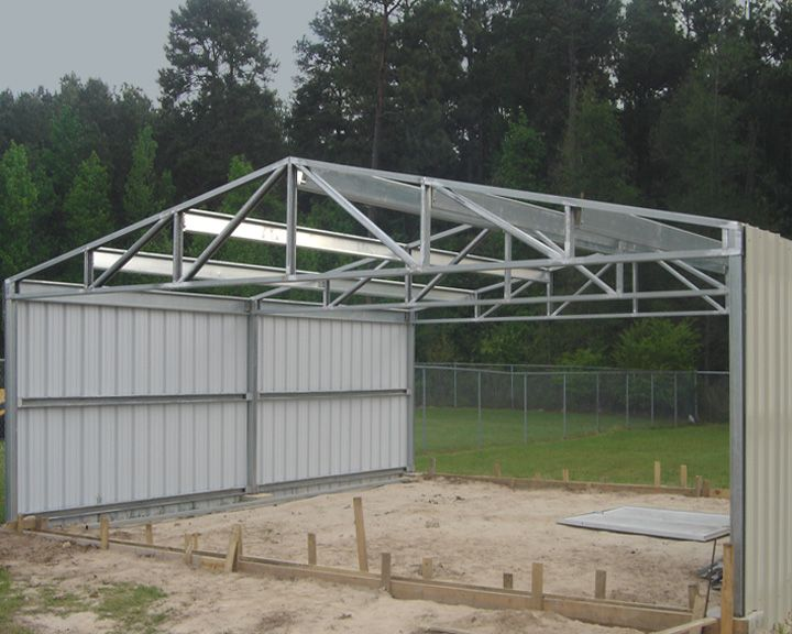 Steel Structures Txport Cabins Texas Portable Cabins Barns Steel Structures In 2020 Steel Structure Concrete Installation Portable Cabins