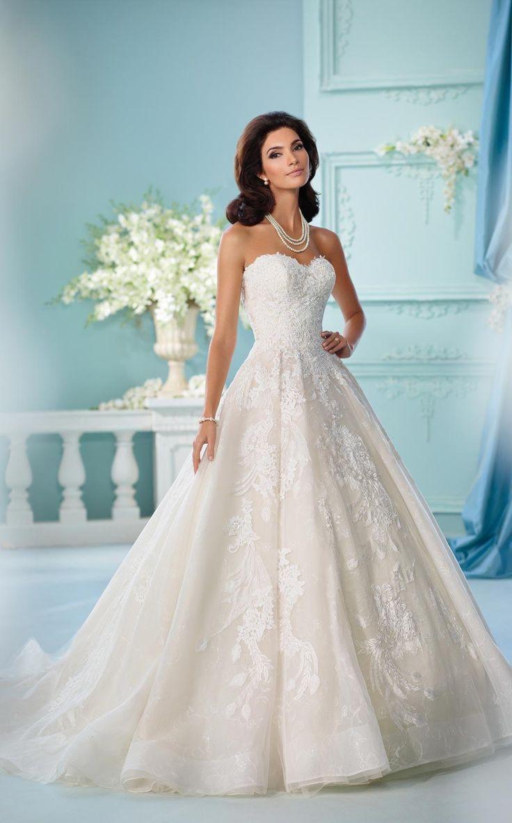 Mejores 110 imágenes de La Reine en Pinterest | Vestidos de novia ...