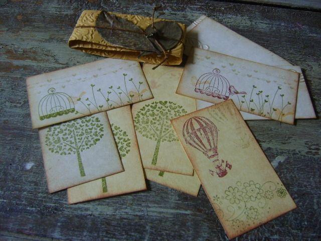Tarjetas personalizadas hechas a mano en Vintage. Diseños Marta Correa Blog: 321 643 63 84 Cel: 321 643 63 84