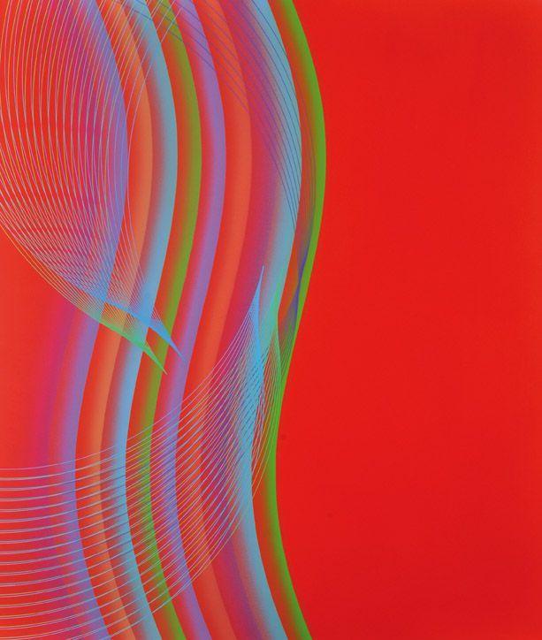 """""""Contrastes de Ritmos"""" . acrílico sobre lienzo . 100x85cm . 2012 Eduardo Mac Entyre"""
