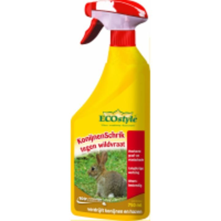 ECOstyle Konijnenschrik 750 ml - heeft een nieuwe #recensie op: https://www.tuincentrumoverzicht.nl/product/11375/ecostyle-konijnenschrik-750-ml/recensies#recensie-319051 - @TCoverzicht