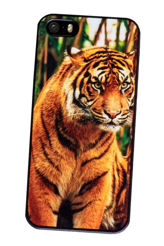 iPhone 5/5s case Tiger photographic hard plastic by photophonecovers, $14.50 free delivery