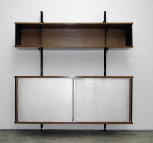 meuble suspendu jean prouv jean prouv pinterest meuble suspendu jean prouve et suspendu. Black Bedroom Furniture Sets. Home Design Ideas