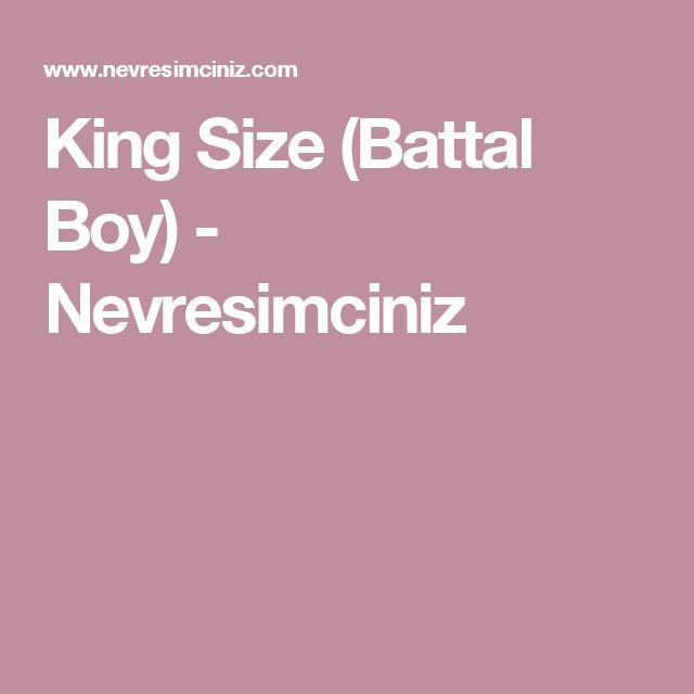 King Size (Battal Boy) - Nevresimciniz