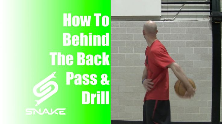 How to Behind the Back Pass Tutorial - Basketball Move ...