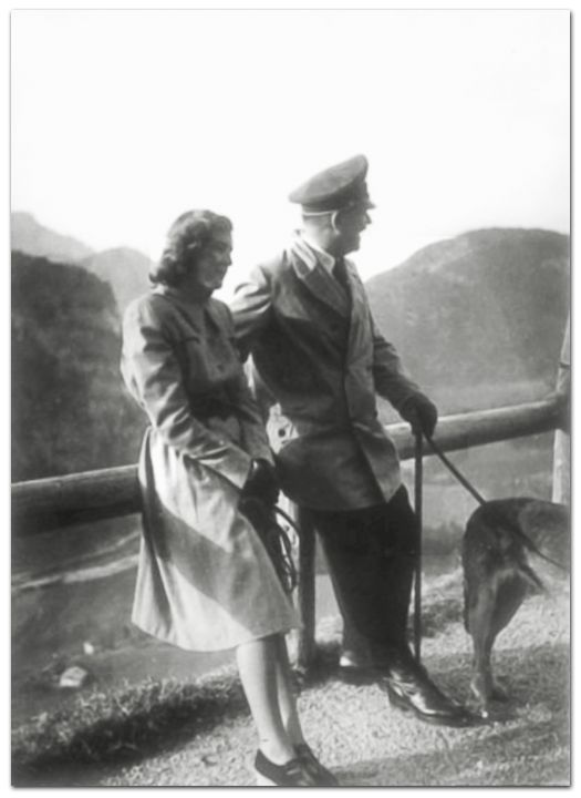 April 29, 1945. Adolf Hitler and Eva Braun are married. Their marriage would only last 36 hours.