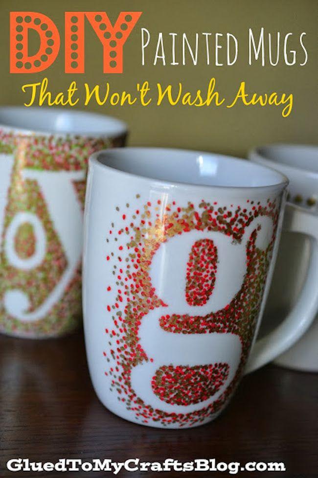 The 11 Best DIY Teacher Gifts - DIY Painted Mug