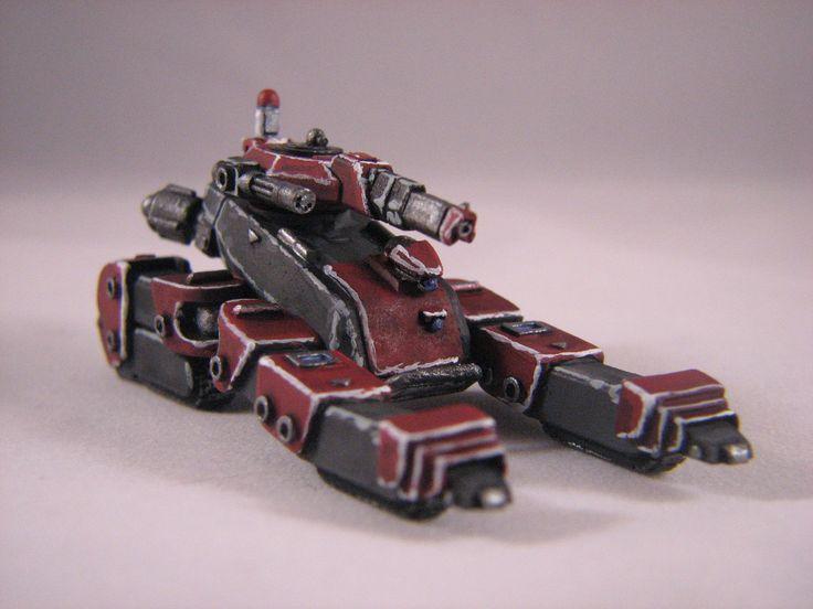Heavy Gear Blitz - Dream Pod 9 - PRDF Coyote Tankstrider painted by Chad Chapman.