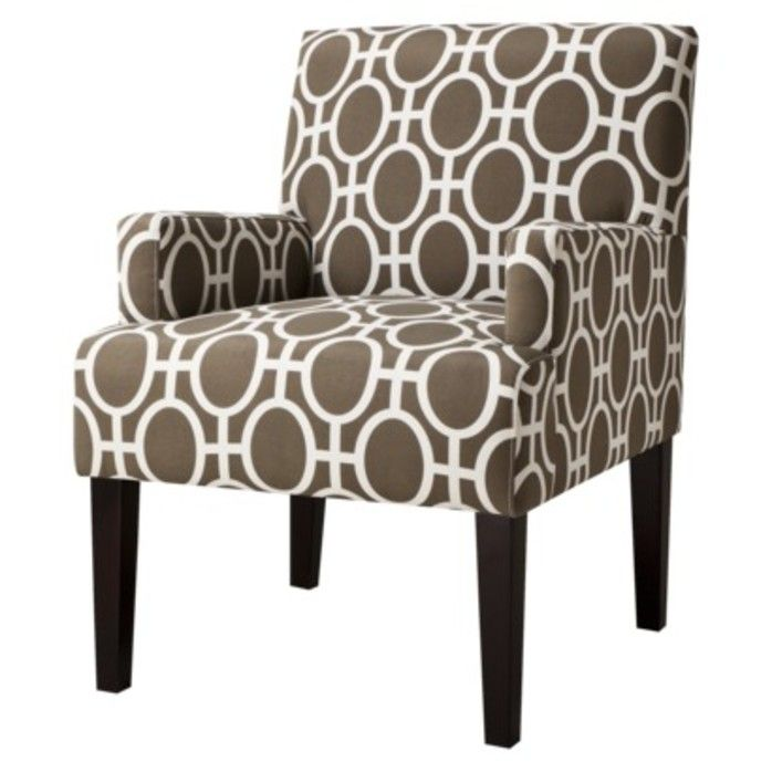 dolce upholstered accent arm chair trellis