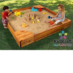 KidKraft®  Backyard Sandbox  with Cover