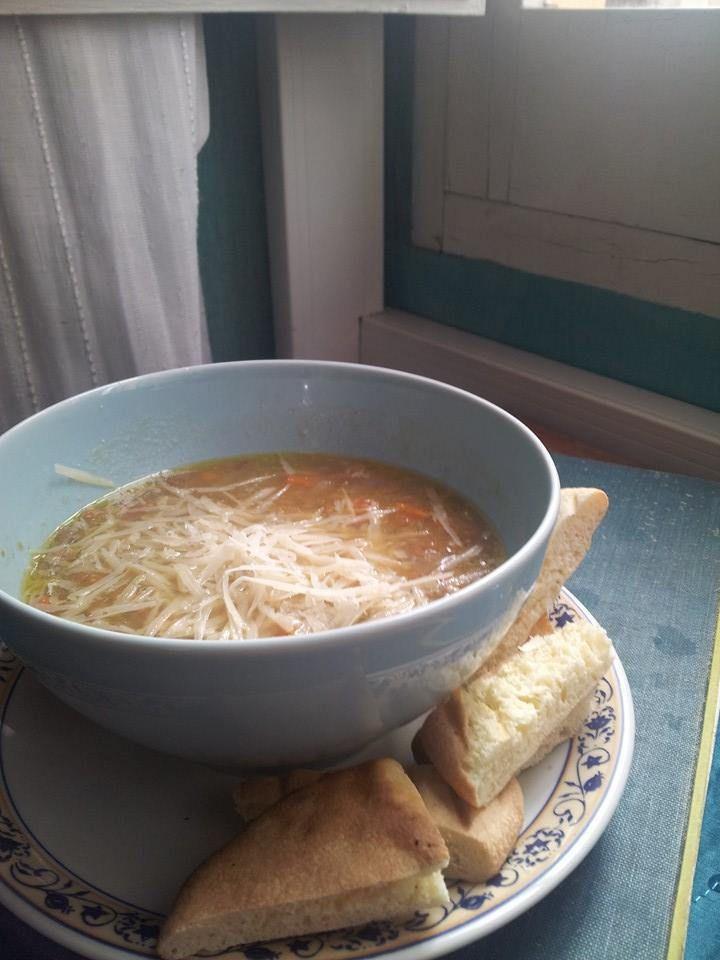 minestra lenticchie .. lentils soup