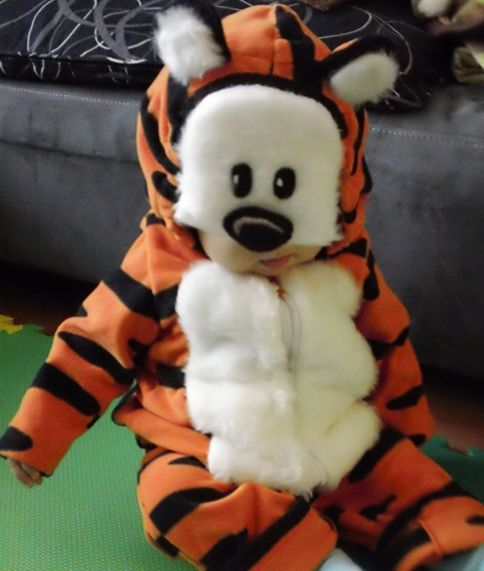 Hobbes Outfit Um Yes Create Baby Costumes Baby Tiger