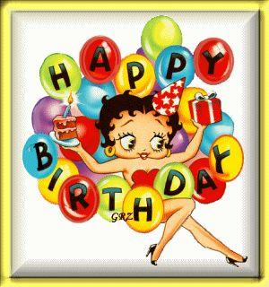 Betty Boop - Happy Birthday