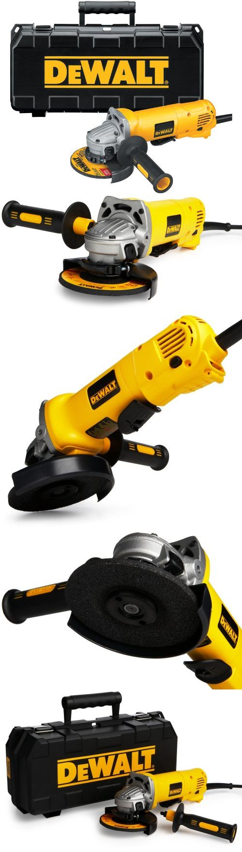 DEWALT D28402K 4-1/2-Inch Small-Angle Grinder Kit - The DEWALT D28402K4-1/2-Inch Small Angle Grinder features a powerful 10 amp motor and an ergonomic body that's easy to handle. This DEWALT also features an exclusive Dust Ejection System and epoxy-coa... - Angle Grinders - Tools & Hardware - $89.00